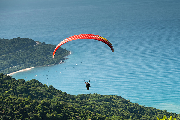 Babadağ'da Yamaç Paraşütü: Yükseklik Korkusuna İnat!