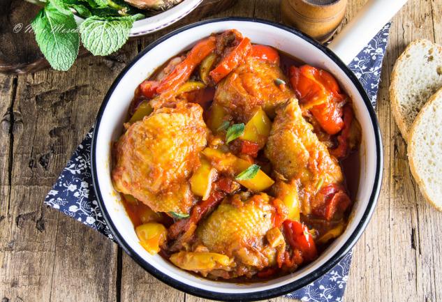 Pollo Alla Romana: Romalıların Geleneksel Yaz Yemeği