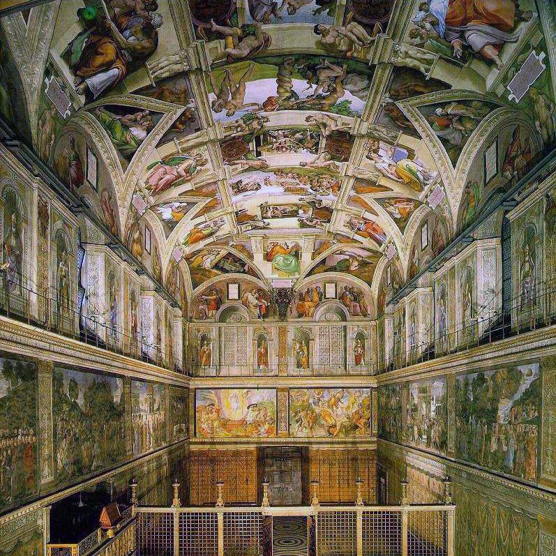 Online Mektep - Vatikan Sistina Şapeli