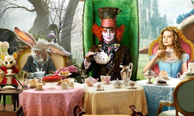 Beş Çayı Alice in Wonderland