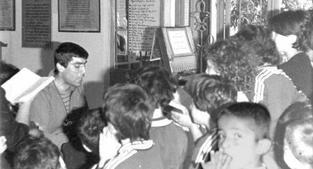 Hrant Dink Tuzla'da, Öğrencileryle