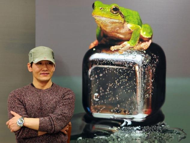 Young-sung Kim ve Kurbağa Tablosu