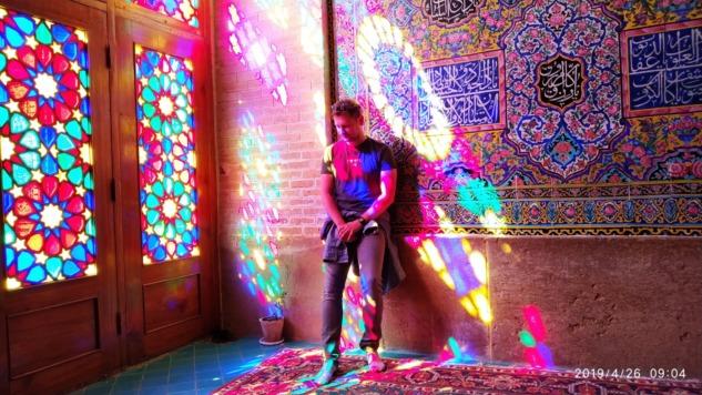 Yiğit Durdaşoğlu, Shiraz, İran