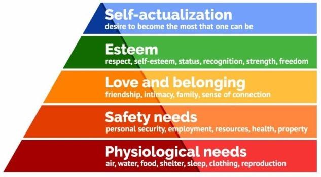 Maslow Piramidi