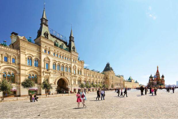 GUM: Moskova'nın Tarihi Nüanslarla Dolu AVM'si