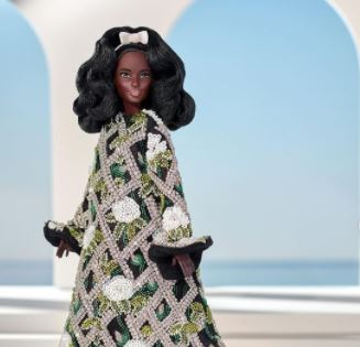 Richard Quinn Sonbahar Kış Koleksiyonu: Tasarımları Barbie'nin Üzerinde Görüyoruz