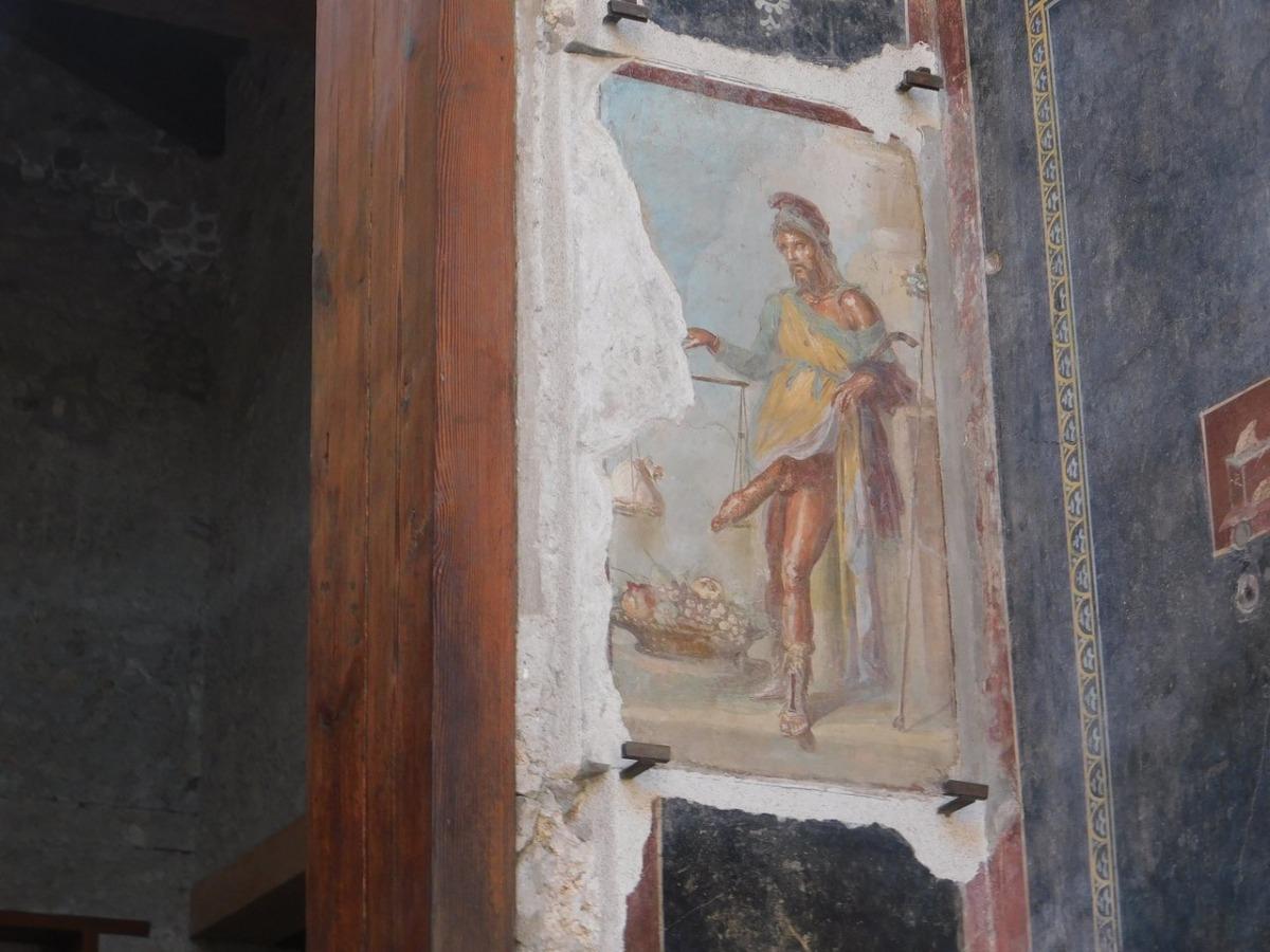 Priapus, Pompeii Freskleri