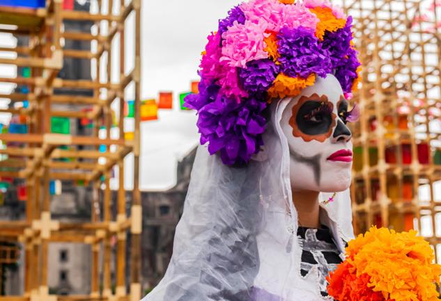Dia de Muertos: Meksika'nın Ölümü ve Yaşamı Kutlayan Festivali