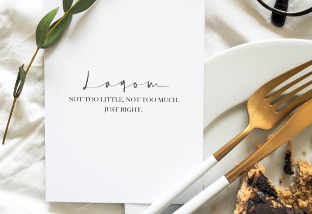 Lagom: Denge Temelli Bir İskandinav Mutlu Yaşam Sırrı