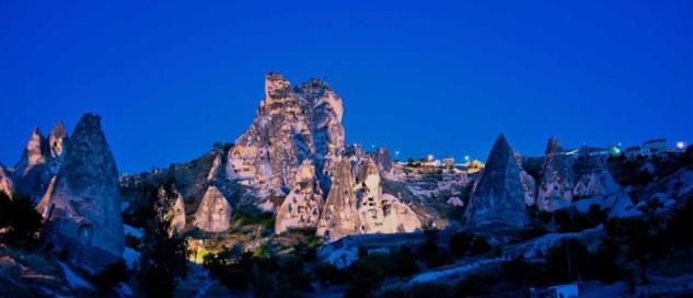Uçhisar Kalesi, Kapadokya