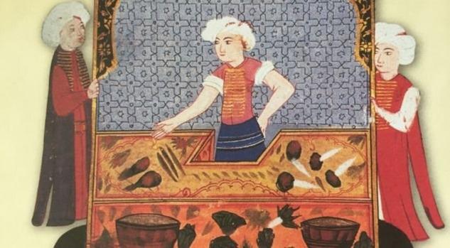 Osmanlı'da Sebze Satıcısı