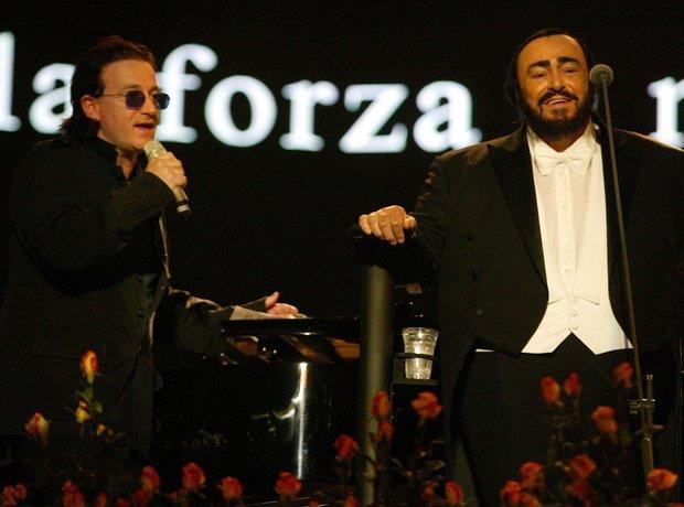 Bono & Pavarotti