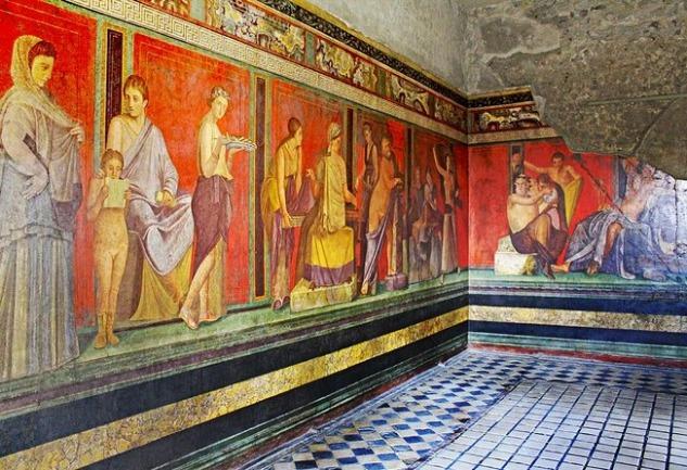 Pompeii Freskleri: Sanatta Cinsellik ve Erotizm