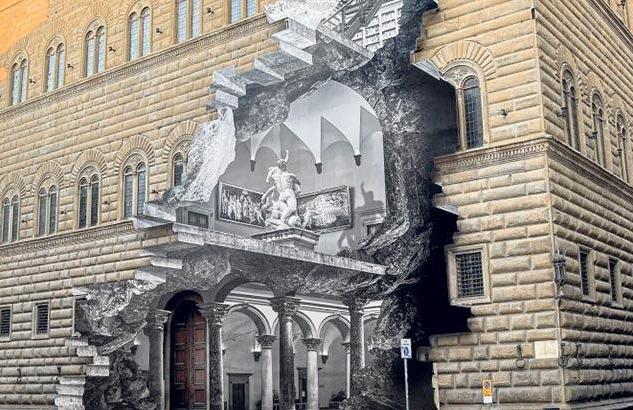 La Ferita: JR'ın Floransa'daki Enstalasyonu Üzerine