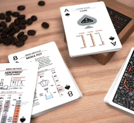 Sip-To-Suit Cards About Coffee: Kahve Tutkunlarına Özel İskambil Destesi