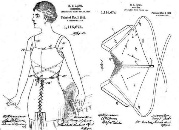 İlk Patentli Modern Sütyen Tasarımı