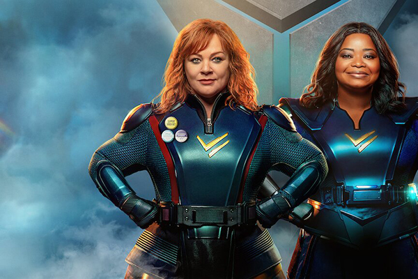 Thunder Force Ekibi ile: Yeni Nesil Süper Kahramanlar