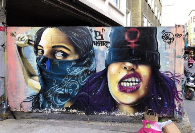 İrem Güler İle: Sokak Sanatı Ve Graffiti Fotoğrafçılığı Üzerine