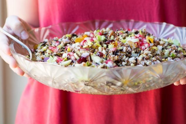 Antik Tahıl Salatası
