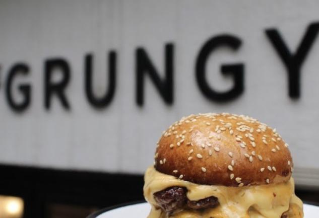 The Grungy Society: Teşvikiye'de Hamburgerin Bir Tık Ötesi