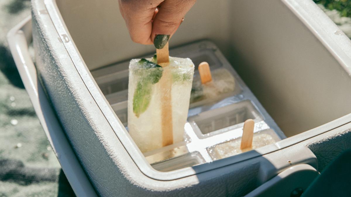 yazlık kokteyller - irlanda limonatalı buzlu çubuklar