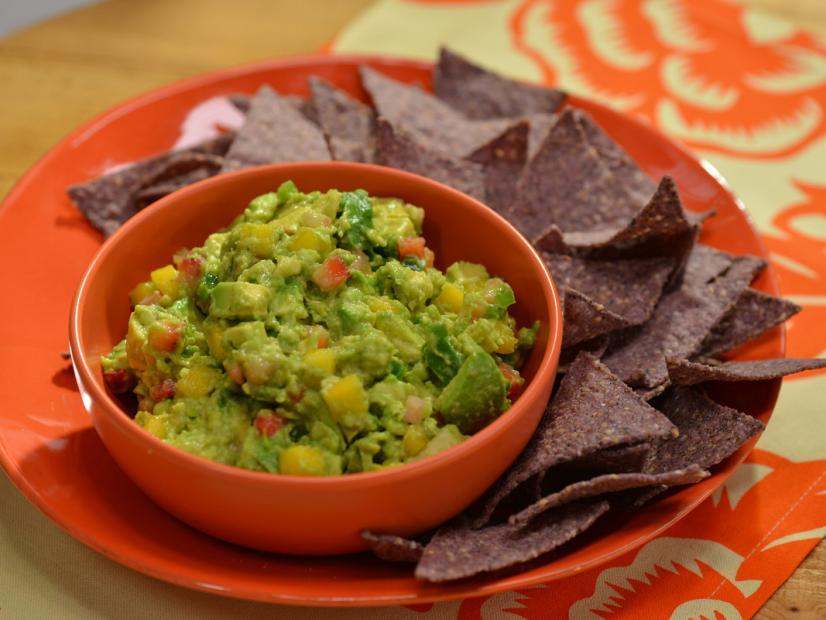 meyveli atıştırmalıklar - guacamole
