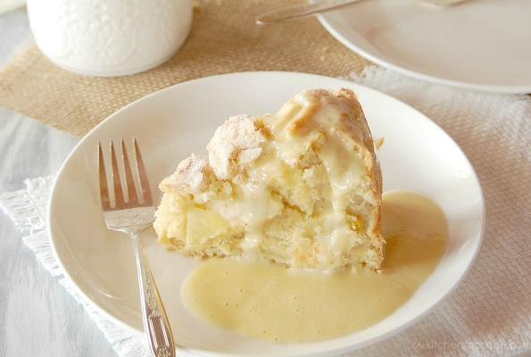 irlanda usulü tatlılar - elmalı ıslak kek