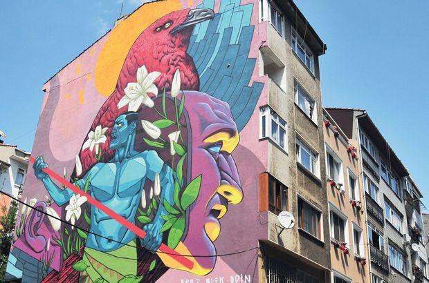 Yeldeğirmeni Mural'ları