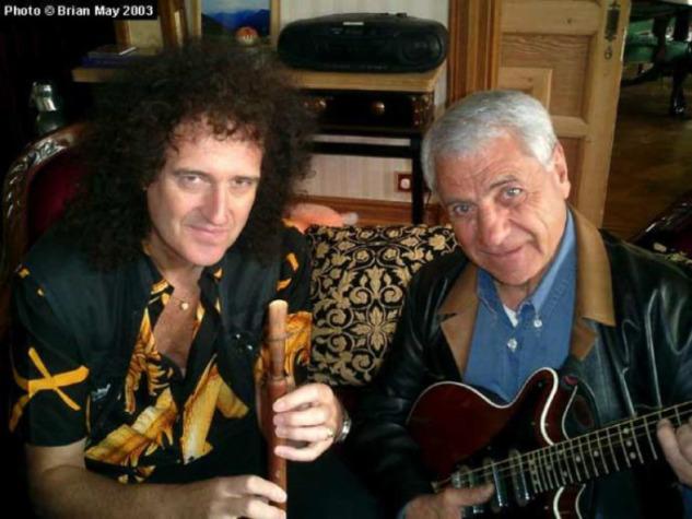 Queen'in gitaristi Brian May ve Civan Gasparyan