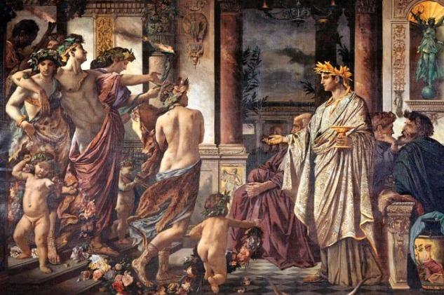 Antik Yunan'da Symposion Toplantıları
