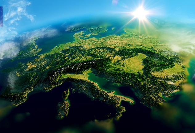 Gökyüzünden Avrupa: National Geographic'ten Yeni Bir Bakış Açısı